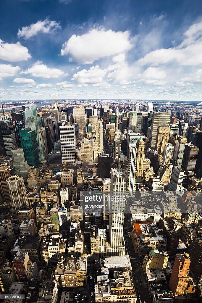 New York City Midtown Skyline : Stock Photo