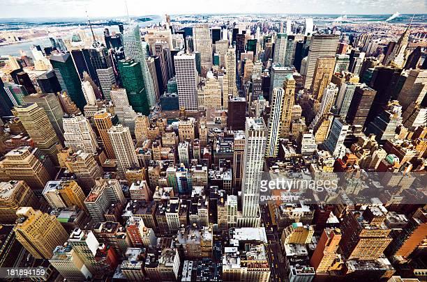 ニューヨーク市ミッドタウンの街並み