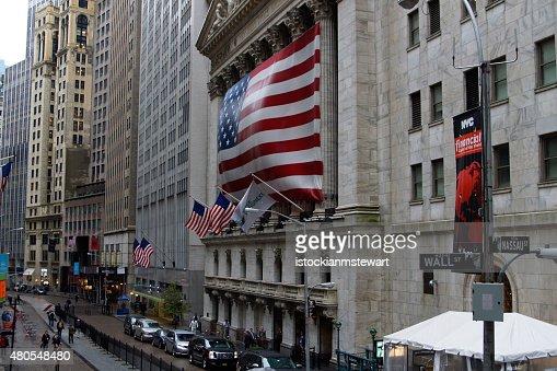 New York City - New York Stock Exchange : Stock Photo