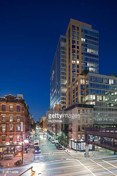 New York City night cityscape