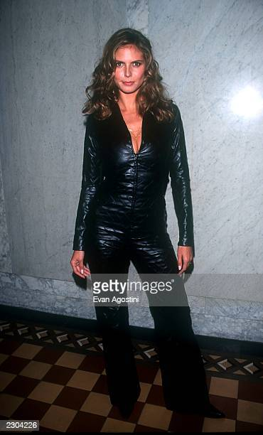 New York City Party for the opening of a fashion exhibition for designer Azzedine Alaia Model Heidi Klum Photo by Evan Agostini/ImageDirect