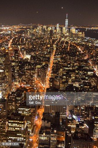 Cidade de Nova Iorque : Foto de stock