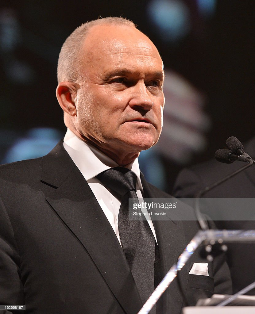 New York City Police Commissioner Ray Kelly attends the New Yorker For New York Gala at Gotham Hall on February 25, 2013 in New York City.
