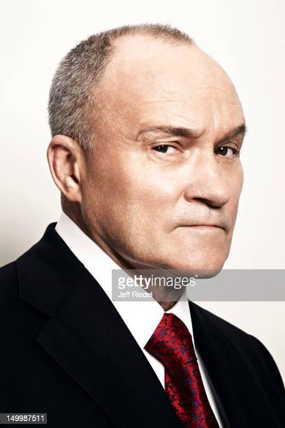 New York City Police Commissioner Ray Kelly is photographed for Newsweek on May 9 2012 in New York City PUBLISHED IMAGE