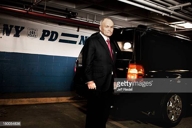 New York City Police Commissioner Ray Kelly is photographed for Newsweek on May 9 2012 in New York City