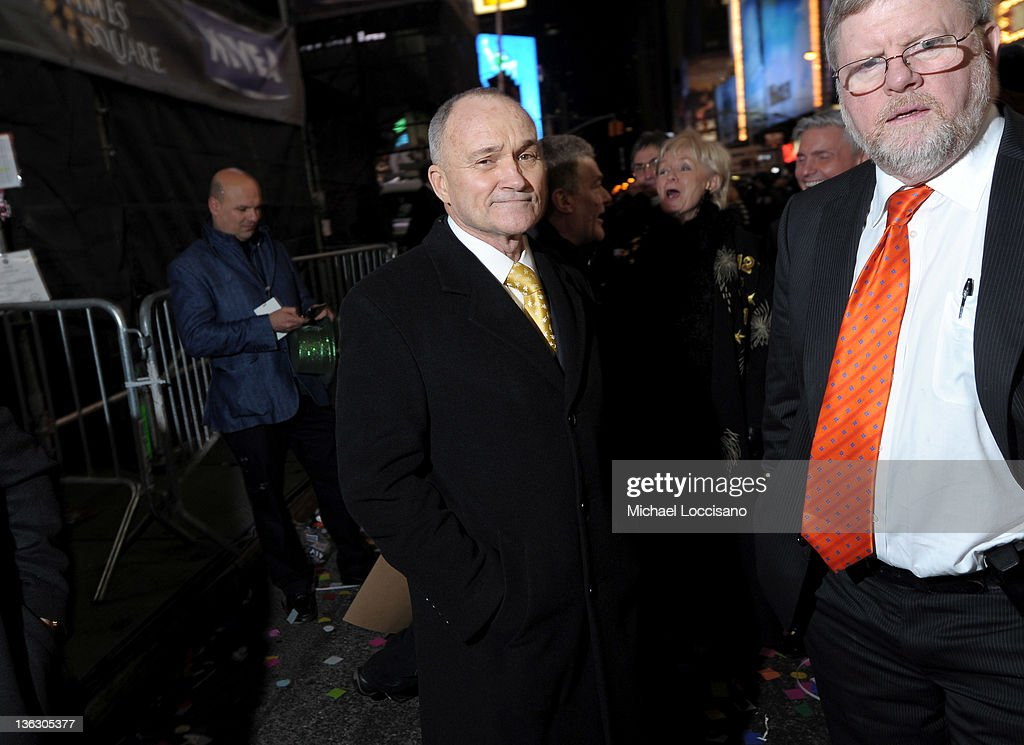 New York City Police Commissioner Raymond Kelly attends New Year's Ball drop in Times Square on December 31, 2011 in New York City.