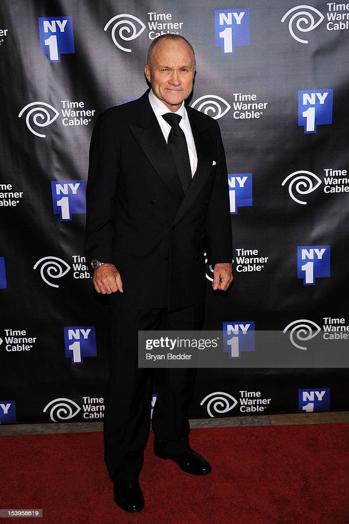 New York City Police Commissioner Raymond Kelly attends the NY1 20th Anniversary party, in celebration of two decades of the New York City news channel at New York Public Library on October 11, 2012 in New York City.
