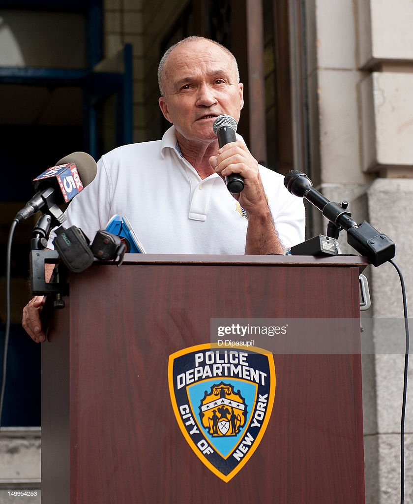 New York City Police Commissioner Raymond W. Kelly attends National Night Out on the streets of Manhattan on August 7, 2012 in New York City.