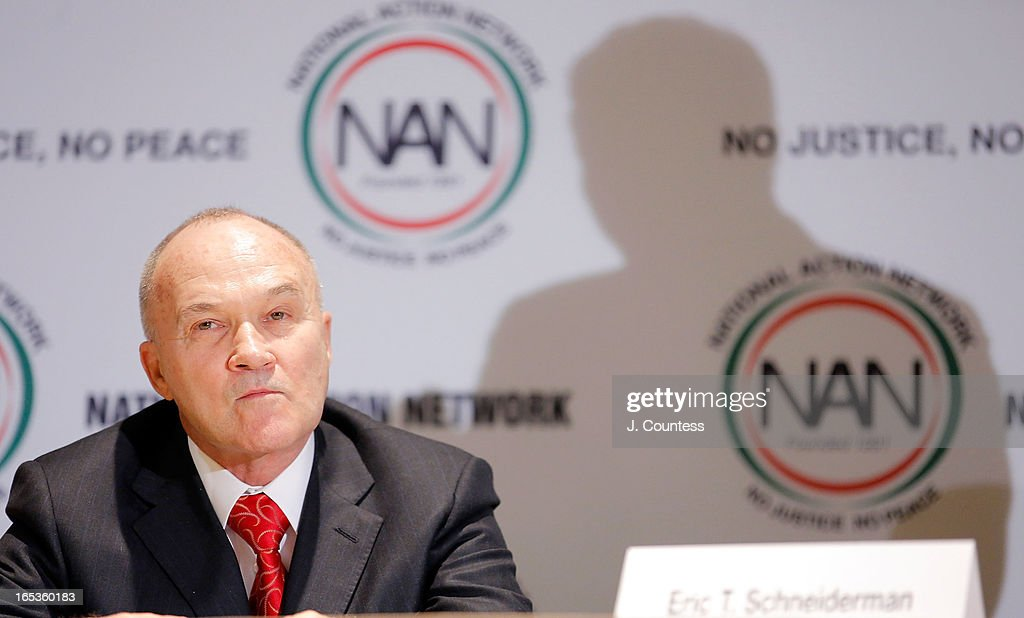 New York City Police Commissioner Raymond W. Kelly attends to the panal 'Gun Violence: Addressing Real Reform' during the 2013 NAN National Convention Day 1 at New York Sheraton Hotel & Tower on April 3, 2013 in New York City.