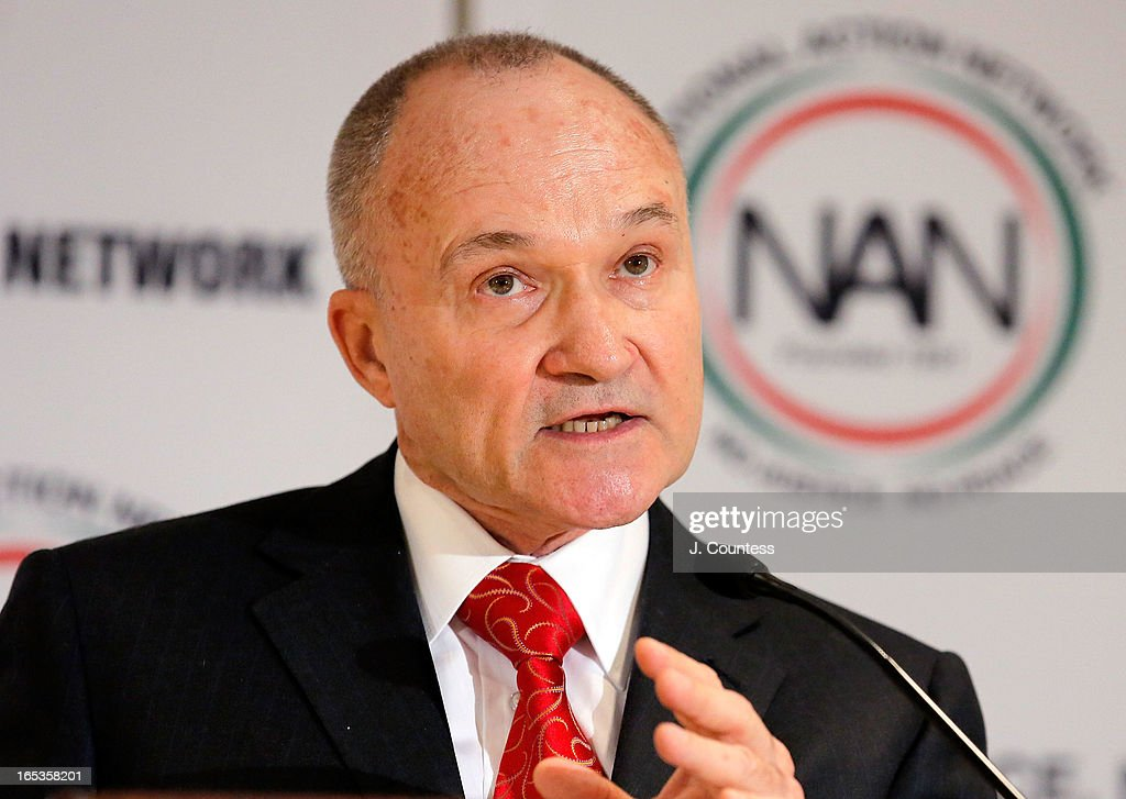 New York City Police Commissioner Raymond W. Kelly speaks prior to the panal 'Gun Violence: Addressing Real Reform' during the 2013 NAN National Convention Day 1 at New York Sheraton Hotel & Tower on April 3, 2013 in New York City.