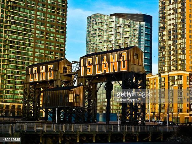 USA ,New York City 、クイーン、ロングアイランドシティーの眺め
