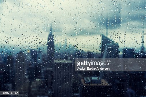 New York City Raindrops