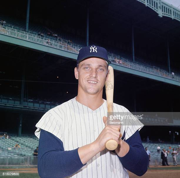 Roger Maris of the Yankees at Yankee Stadium