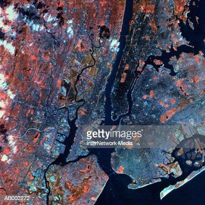 New York City Satellite View