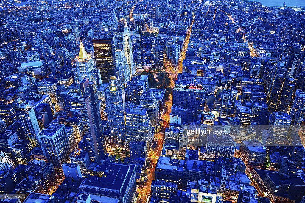 New York City skyline, Manhattan, USA : Stock Photo