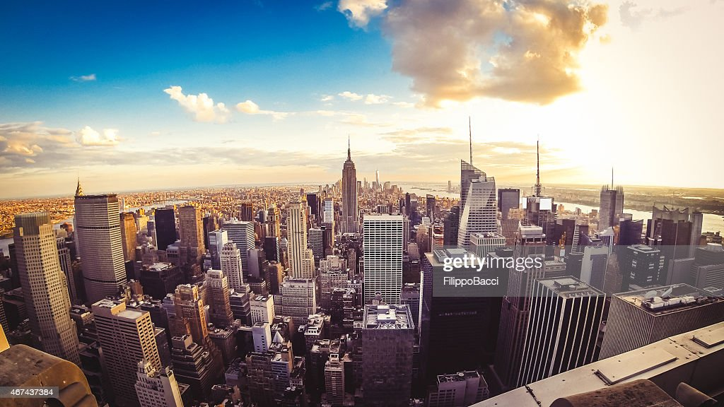 La ville de New York-Midtown et de l'Empire State Building : Photo