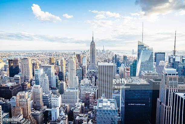 Skyline di New York-Midtown e l'Empire State Building