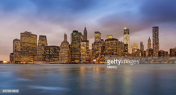 New York City Skyline Panorama États-Unis