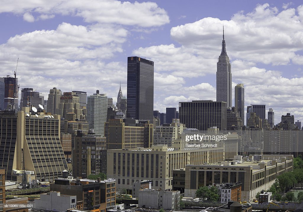 usa new york city skyline stock foto getty images. Black Bedroom Furniture Sets. Home Design Ideas