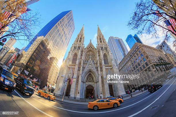 USA, New York City, St Patrick's Cathedral