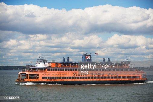 USA, New York City, Staten Island Ferry