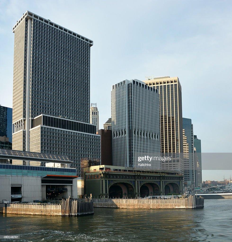 La ciudad de Nueva York-Terminal de Ferry de Staten Island : Foto de stock