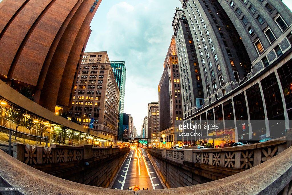 New York City Street And Buildings : Stock Photo