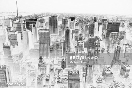 USA, New York City, view of Central Park