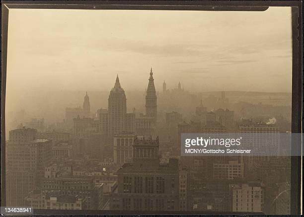 New York City views Looking south from 10 East 40th Street 38th floor Metropolitan Life Insurance Company Tower