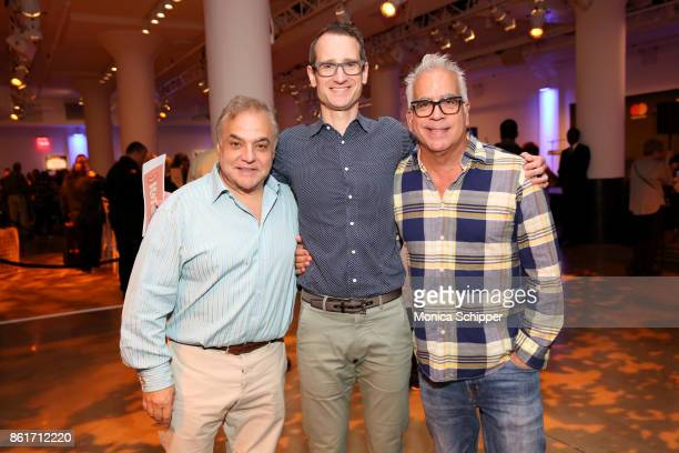 New York City Wine Food Festival Founder Lee Schrager Variety theatre editor Gordon Cox Broadway director and producer Richard JayAlexander attend...