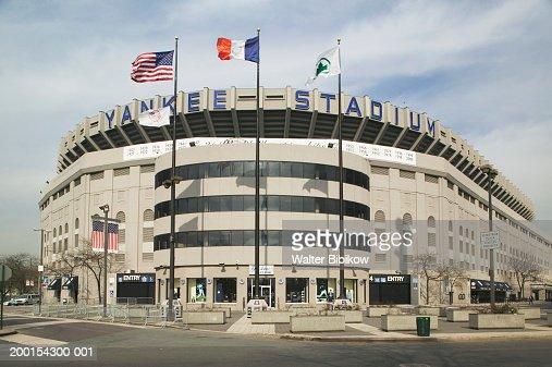 Usa new york city yankee stadium exterior stock photo - 600 exterior street bronx ny 10451 ...