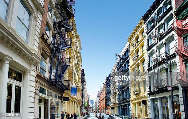 CONTENT] New York City's Soho Neighborhood A popular shopping destination Greene Street South Houston