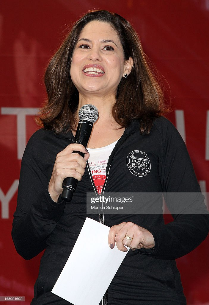 New York Consumer Reporter Lynda Baquero attends the 16th annual EIF Revlon Run/Walk for Women in Times Square on May 4, 2013 in New York City.