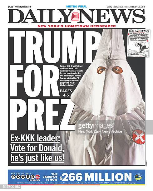 New York Daily News: New York Daily News Front Page Stock Photos And Pictures