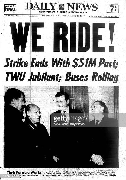 New York City Transit Strike Pictures Getty Images