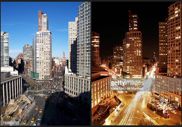 New York - Day and Night