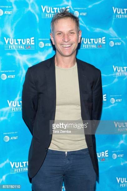 New York editorinchief Adam Moss attends the Vulture Festival Los Angeles KickOff Party at Hollywood Roosevelt Hotel on November 17 2017 in Hollywood...