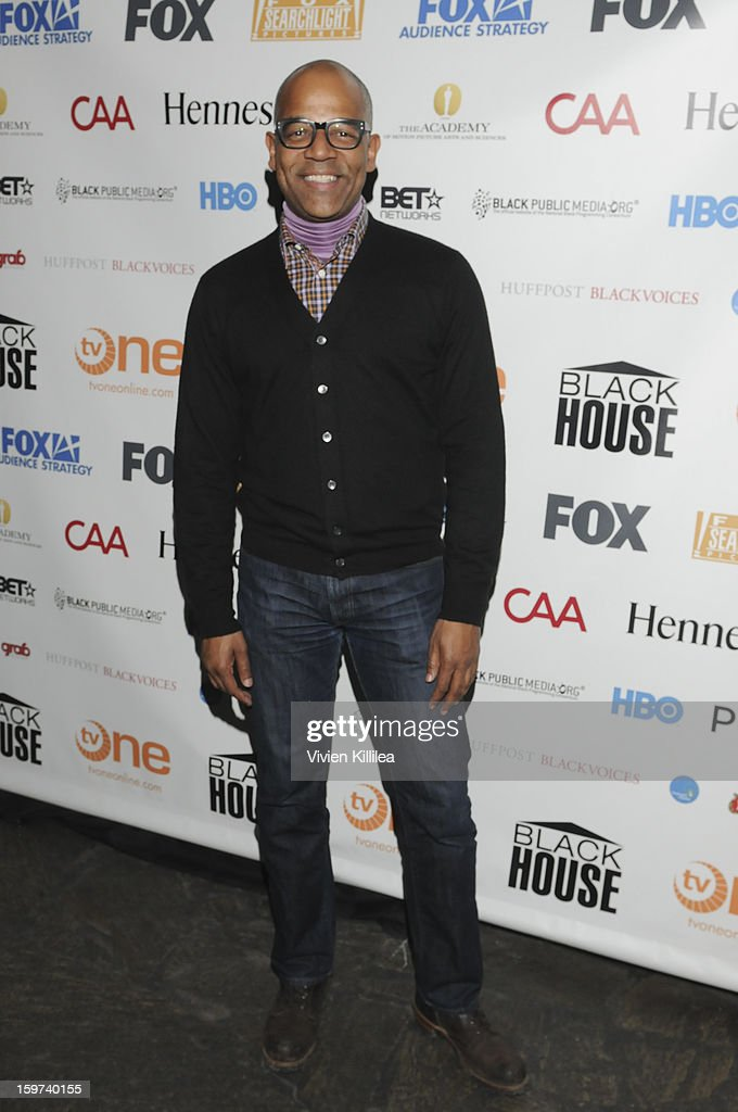 New York Events Director for the Academy of Motion Picture Arts and Sciences Patrick Harrison attends the Academy Conversation With Will Packer At Sundance Film Festival - 2013 Park City on January 19, 2013 in Park City, Utah.