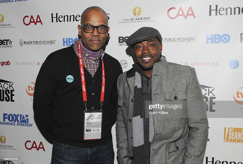 New York Events Director for the Academy of Motion Picture Arts and Sciences Patrick Harrison and producer Will Packer attend the Academy Conversation With Will Packer At Sundance Film Festival - 2013 Park City on January 19, 2013 in Park City, Utah.
