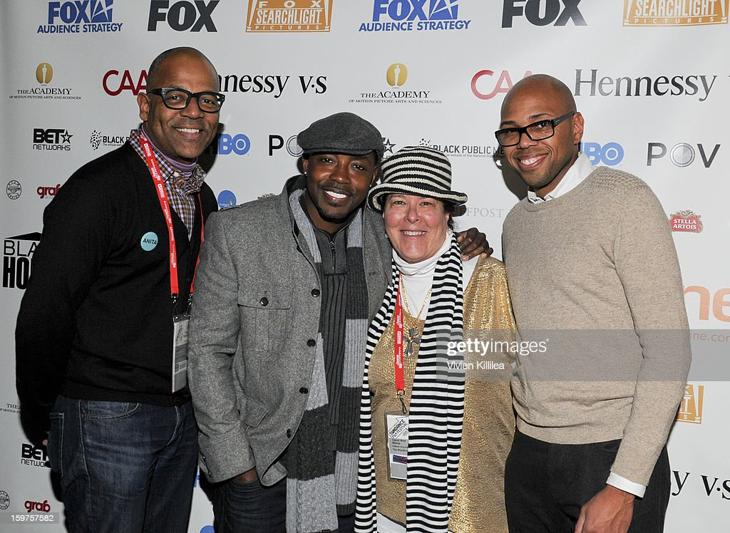 New York Events Director for the Academy of Motion Picture Arts and Sciences Patrick Harrison, producer Will Packer, Carol Ann Shine of Blackhouse and moderator Brickson Diamond attend the Academy Conversation With Will Packer At Sundance Film Festival - 2013 Park City on January 19, 2013 in Park City, Utah.