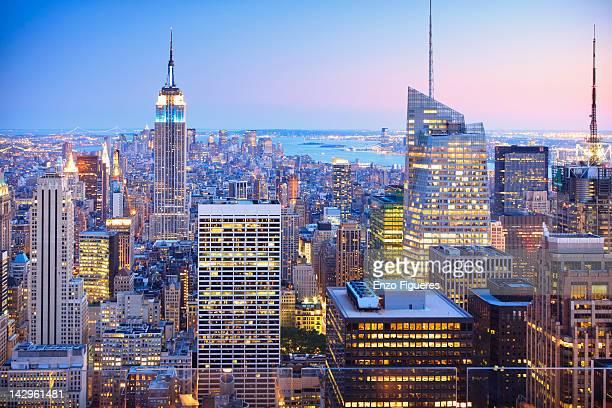 New York famous skyline