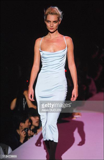 New York Fashion Fashion Show Versace On March 26th 1996 In New YorkUnited States
