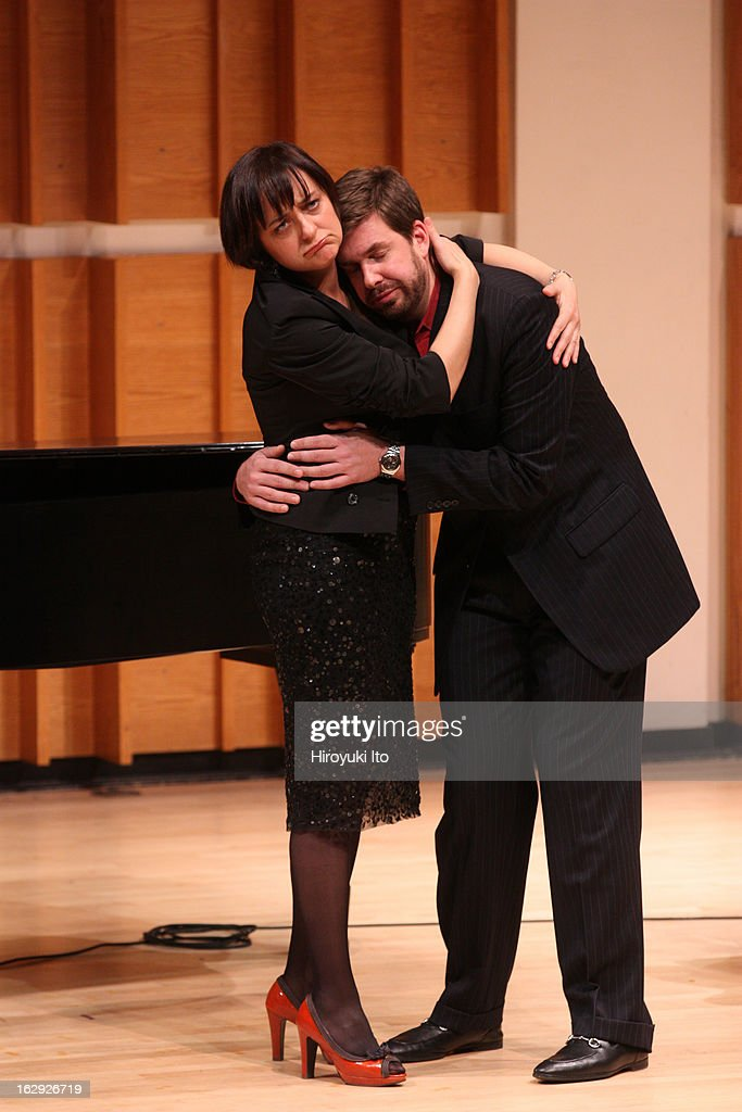 New York Festival of Song presents 'Jacques Brel & Charles Trenet: Fire and Fantasy' at Merkin Concert Hall on Tuesday night, February 19, 2013This image:Marie Lenormand and Philippe Pierce.