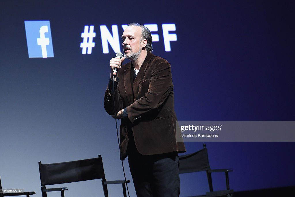 New York Film Festival director Kent Jones speaks onstage at 'Bright Lights' Intro and Q&A at Alice Tully Hall, Lincoln Center on October 10, 2016 in New York City.