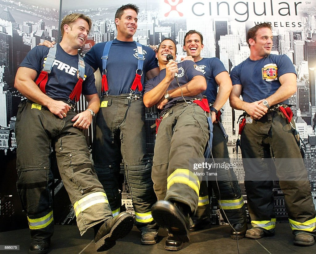 June Calendar New York City : New york firefighters and models mr february ed mcnulty