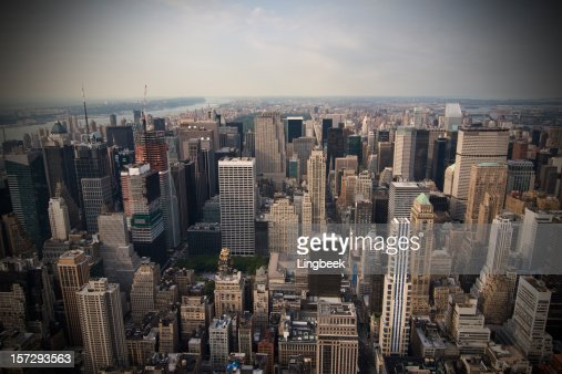 New York from the Empire State