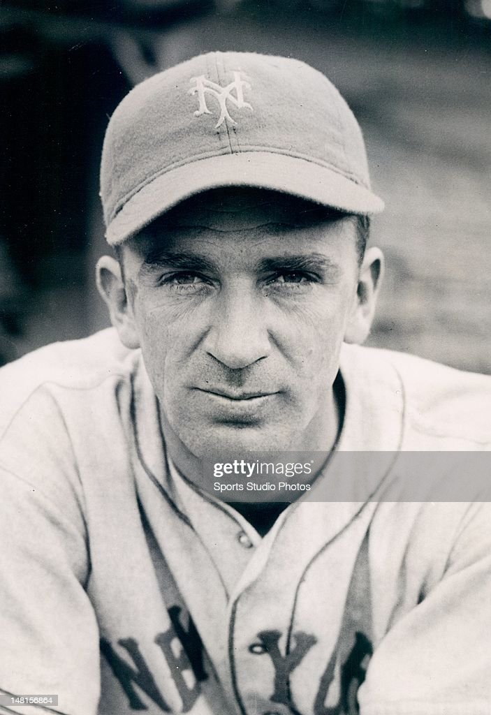 New York Giant Pitcher Carl Hubbell poses for a portrait during Spring Training in Havana, Cuba on February 24, 1937.