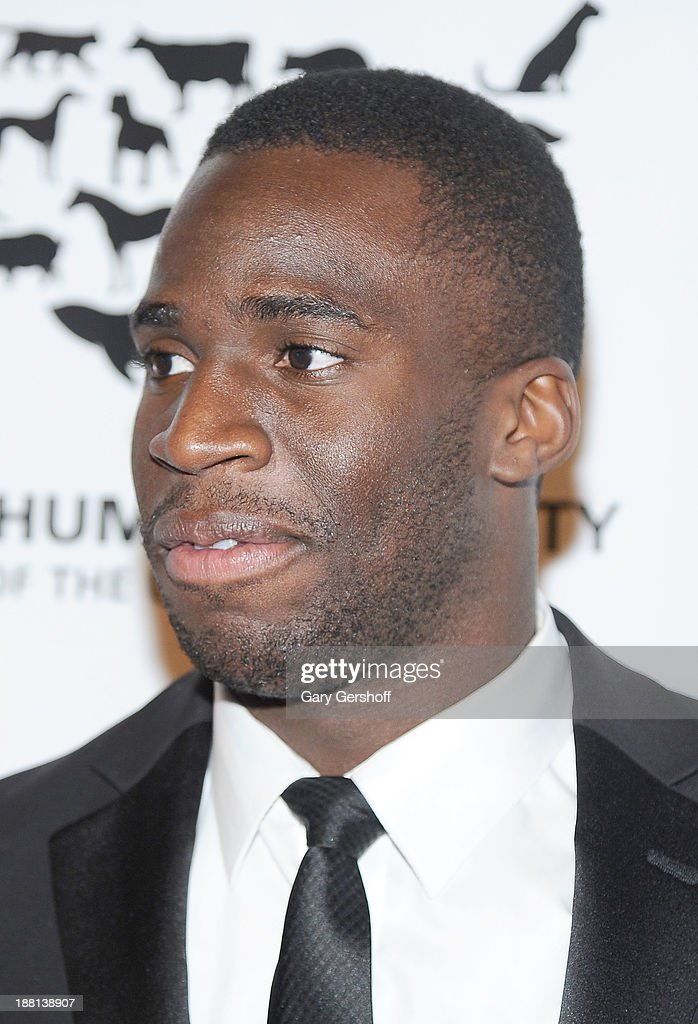 New York Giants cornerback <a gi-track='captionPersonalityLinkClicked' href=/galleries/search?phrase=Prince+Amukamara&family=editorial&specificpeople=6357867 ng-click='$event.stopPropagation()'>Prince Amukamara</a> attends