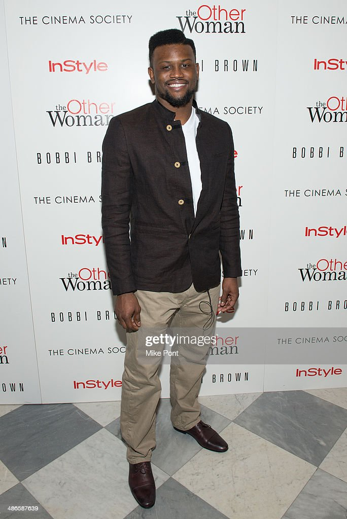 New York Giants football player Walter Thurmond attends The Cinema Society & Bobbi Brown with InStyle screening of 'The Other Woman' at The Paley Center for Media on April 24, 2014 in New York City.