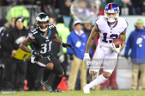 NFL: DEC 22 Giants at Eagles : News Photo